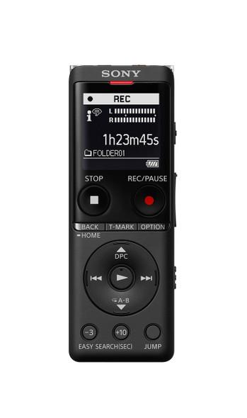 Sony ICD-UX570 - Voice recorder - 4 GB - black