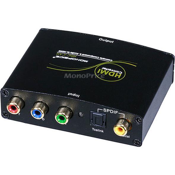 Monoprice Component (YPbPr) & S/PDIF Digital Coax/Optical Toslink Audio to HDMI Converter - 5971