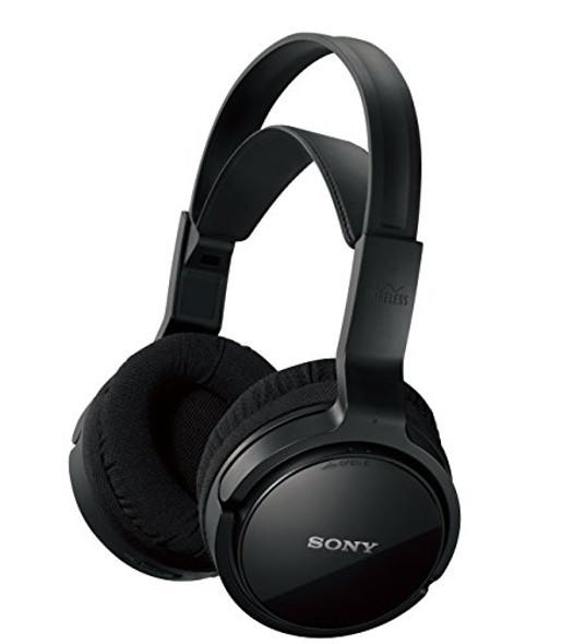 Sony MDR-RF912RK - Headphone system - full size - wireless - black