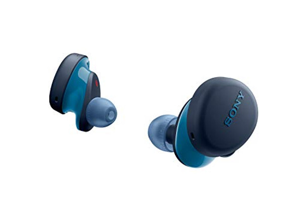 Sony WF-XB700 - True wireless earphones with mic - in-ear - Bluetooth - blue