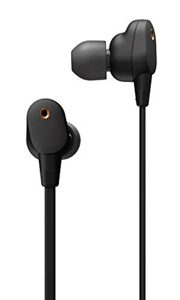 Sony WI-1000XM2 Industry Leading Noise Canceling Wireless Behind-Neck in Ear Headset/Headphones with mic for phone call with Alexa Voice Control, Black