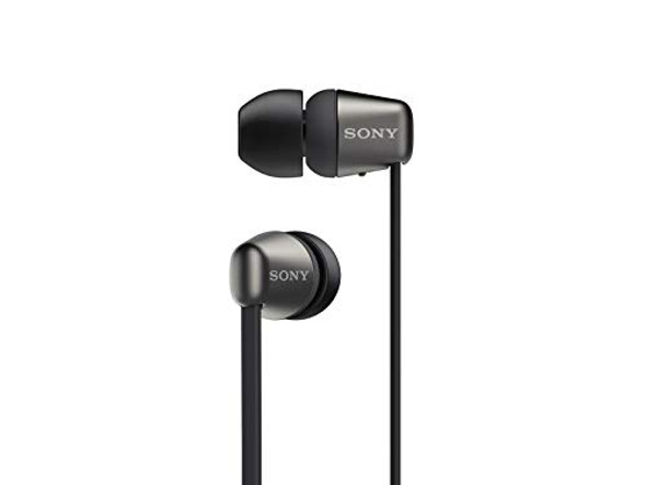 Sony WI-C310 - Earphones with mic - in-ear - Bluetooth - wireless - black