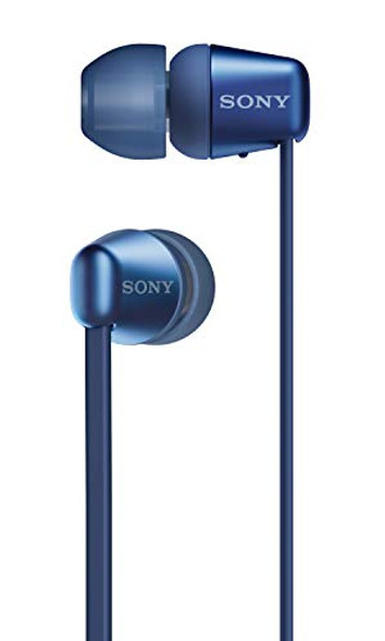 Sony WI-C310 Wireless in-Ear Headset/Headphones with mic for Phone Call, Blue, Model Number: WI-C310/L