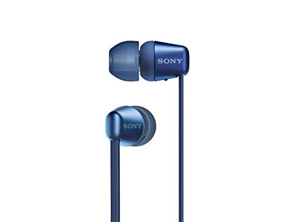 Sony WI-C310 - Earphones with mic - in-ear - Bluetooth - wireless - blue