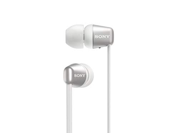 Sony WI-C310 - Earphones with mic - in-ear - Bluetooth - wireless - white