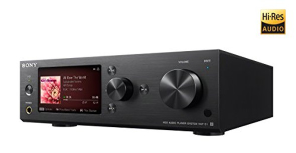 Sony HAPS1/B 500GB Hi-Res Music Player System