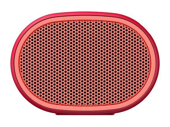 Sony SRS-XB01 Compact Portable Bluetooth Speaker: Loud Portable Party Speaker - Built in Mic for Phone Calls Bluetooth Speakers - Red - SRS-XB01