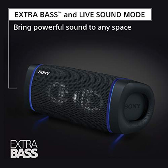 Sony SRS-XB33 Extra BASS Wireless Speaker IP67 Bluetooth, Blue