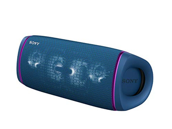 Sony SRS-XB43 - Speaker - for portable use - wireless - NFC, Bluetooth - App-controlled - 2-way - blue
