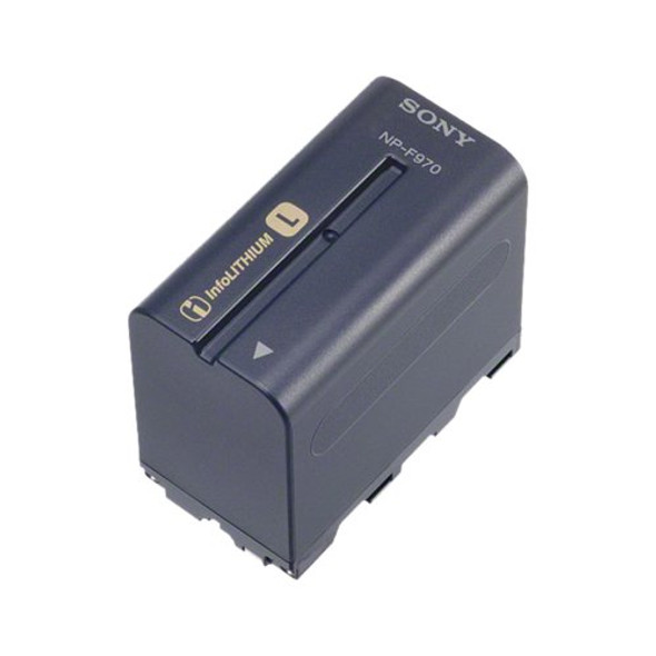 Sony NP-F970 - Camcorder battery - Li-Ion - 6600 mAh - for Sony HVR-V1P, Z1J, Z7J, NXCAM HXR-NX100, NX200, NX5R, NEX-FS100, FS700, XDCAM PXW-Z150