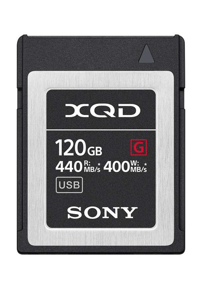 Sony G-Series QD-G120F - Flash memory card - 120 GB - XQD