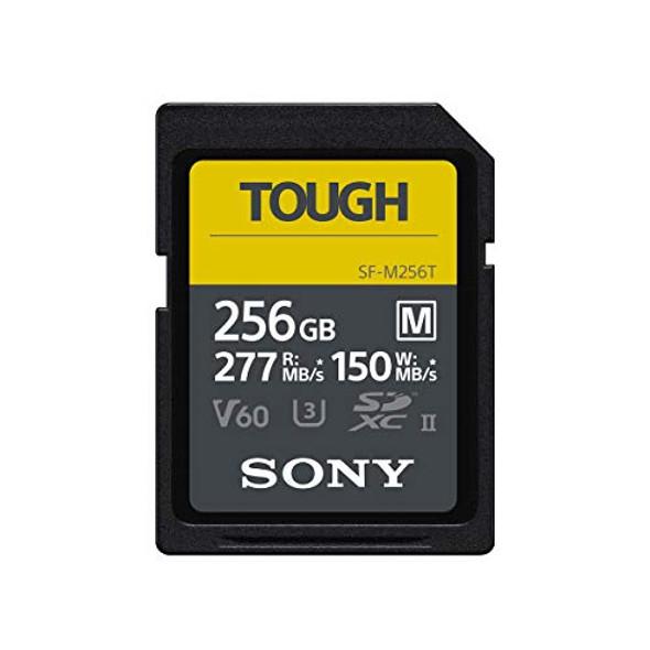 Sony SF-M Series Tough SF-M256T - Flash memory card - 256 GB - UHS-II U3 / Class10 - SDXC UHS-II