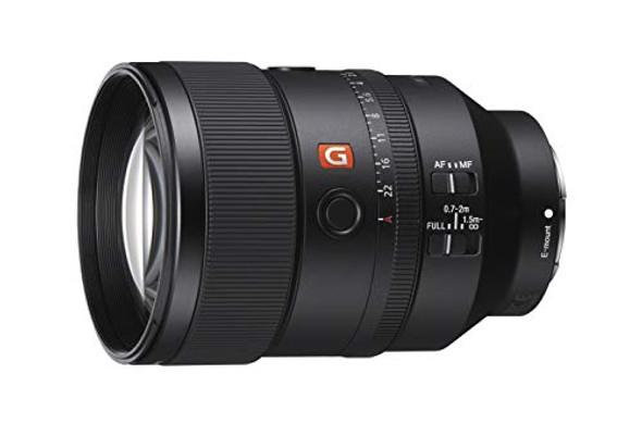 Sony SEL135F18GM - Telephoto lens - 135 mm - 135 mm - f/1.8 FE GM - Sony E-mount - for Sony NEX-FS700, NXCAM NEX-FS100, FS700, a6300, a6400, a6500, a7 III, a7R II, a7s II, a9