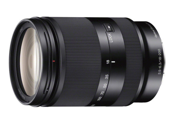 Sony SEL18200LE - Zoom lens - 18 mm - 200 mm - f/3.5-6.3 OSS - Sony E-mount - for Handycam NEX-VG900, a NEX 3NL, 3NY, 6, 6L, 6Y, a3000, a5100, a7, a7R