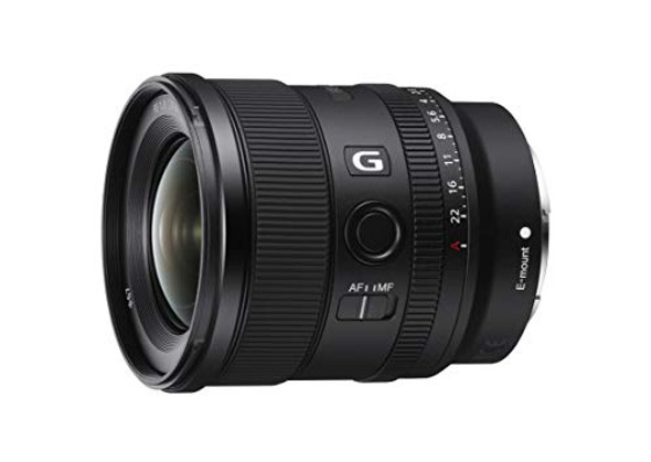 Sony SEL20F18G - Wide-angle lens - 20 mm - f/1.8 G - Sony E-mount