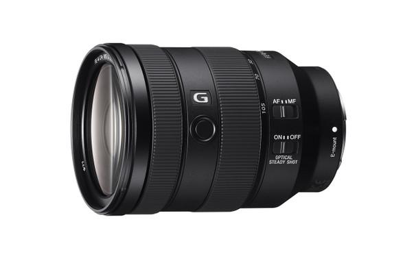 Sony SEL24105G - Zoom lens - 24 mm - 105 mm - f/4.0 FE G OSS - Sony E-mount - for NXCAM NEX-FS100, a6100, a6300, a6400, a6500, a6600, a7 III, a7R II, a7R III, a7s II, a9
