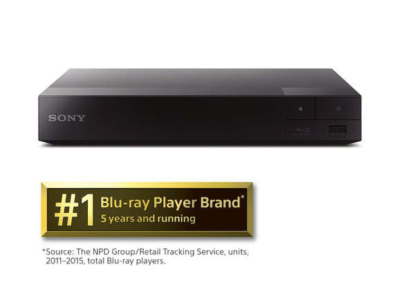 Sony BDPS1700 WIRED Streaming Blu-Ray Disc Player (2016 Model)