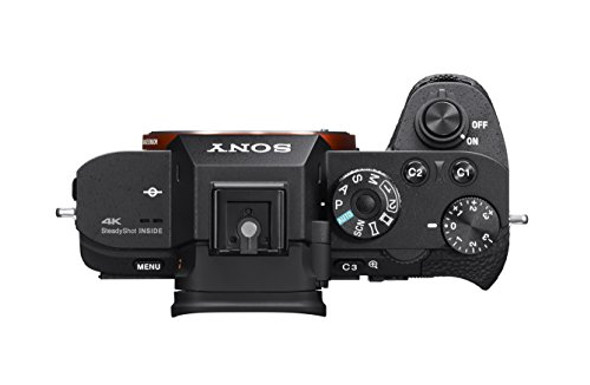 Sony a7R II Full-Frame Mirrorless Interchangeable Lens Camera, Body Only (Black) (ILCE7RM2/B), Base, Base