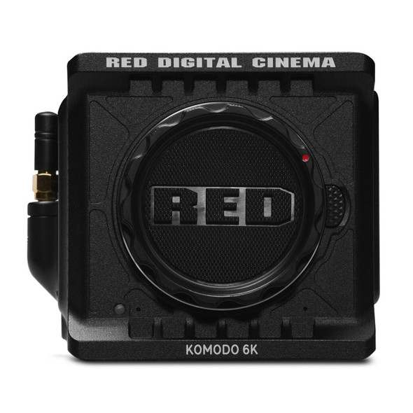 RED Digital Cinema KOMODO 6K Camera - Black Edition - Body Only (Canon RF)