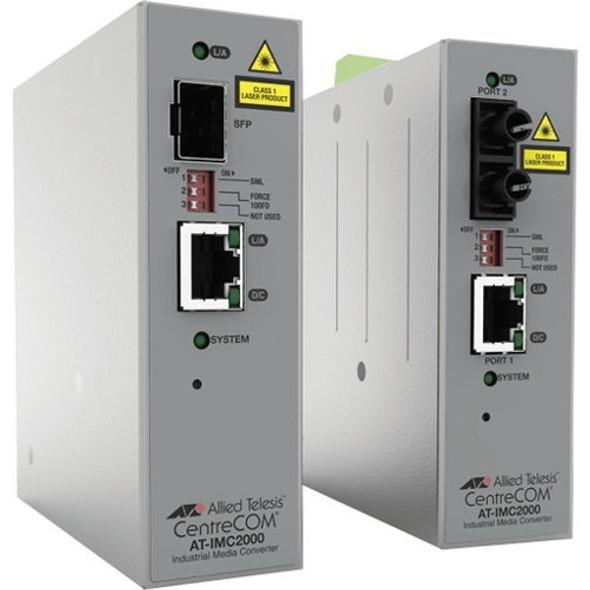 Allied Telesis IMC2000TP/SP Transceiver/Media Converter - AT-IMC2000TP/SP-980