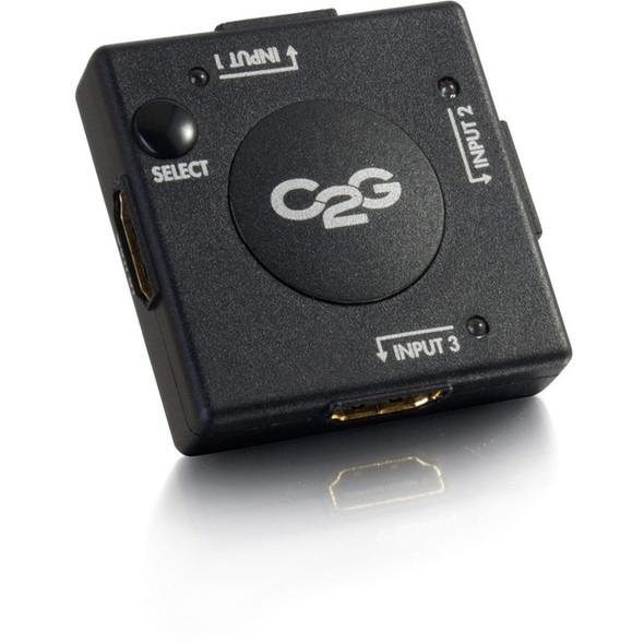 C2G 3-Port HDMI Auto Switch - 40734