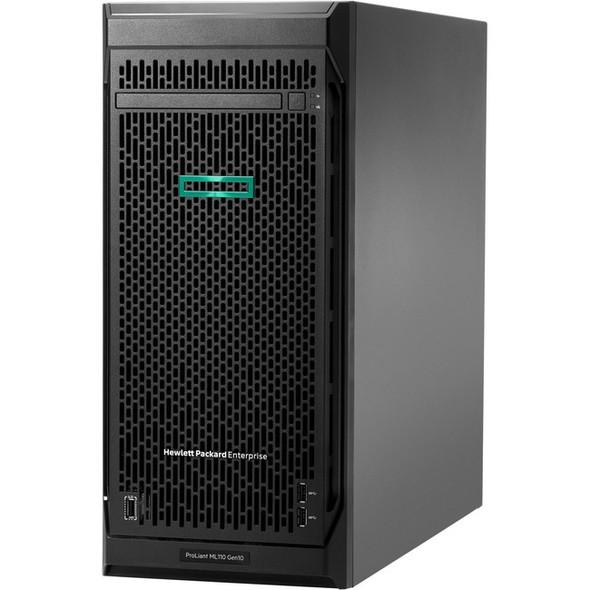 HPE ProLiant ML110 G10 4.5U Tower Server - 1 x Xeon Bronze 3204 - 16 GB RAM - 4 TB (1 x 4 TB) HDD - Serial ATA/600 Controller - P19116-001