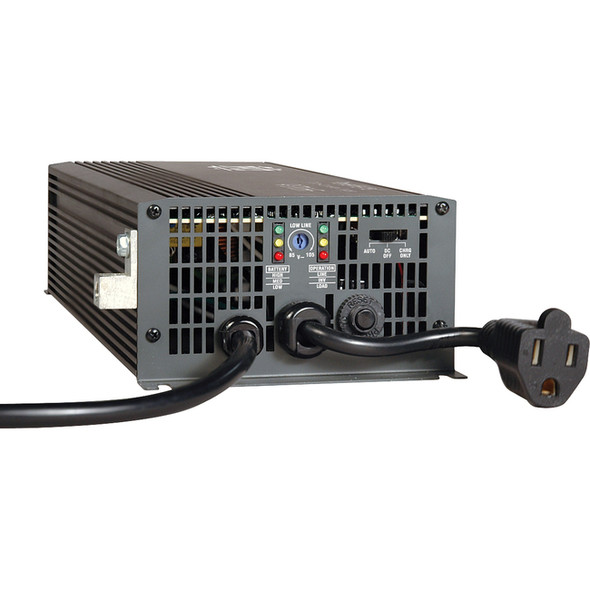 Tripp Lite 700W APS 12VDC 120V Inverter / Charger w/ Auto Transfer Switching ATS 1 Outlet - APS700HF