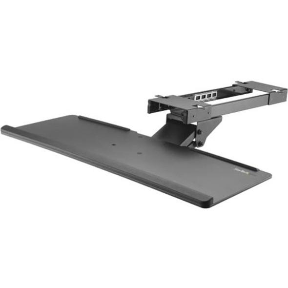 StarTech Under Desk Keyboard Tray - Adjustable - Keyboard Drawer - Computer Keyboard Stand - Keyboard Shelf 26.4in W - Keyboard Shelf - KBTRAYADJ