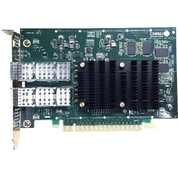 Chelsio T6 Dual Port 40G/50G/100GbE Adapter - T62100-CR