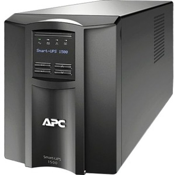 APC by Schneider Electric Smart-UPS 1500VA LCD 120V with SmartConnect - SMT1500C