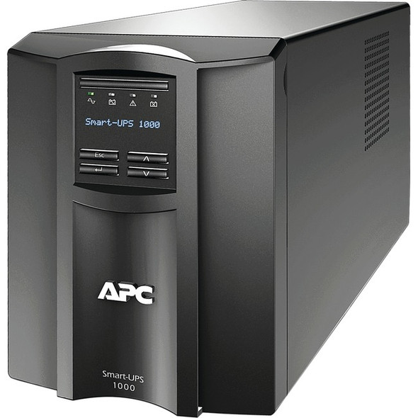 APC by Schneider Electric Smart-UPS 1000VA LCD 120V with SmartConnect - SMT1000C