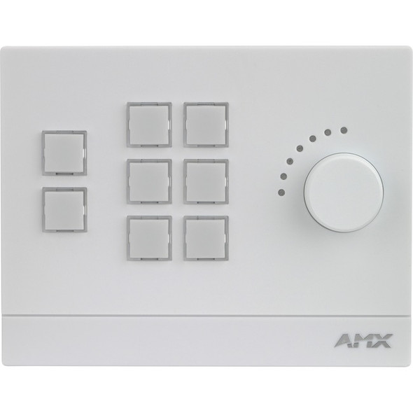 AMX Massio 8-Button ControlPad with Knob (US, UK, EU) - FG2102-08-W