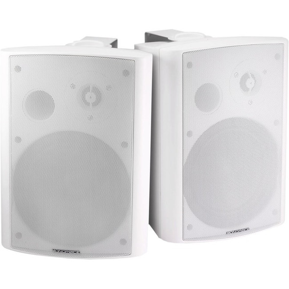 Monoprice MPA-25-WH Speaker System - 25 W RMS - White - 7496