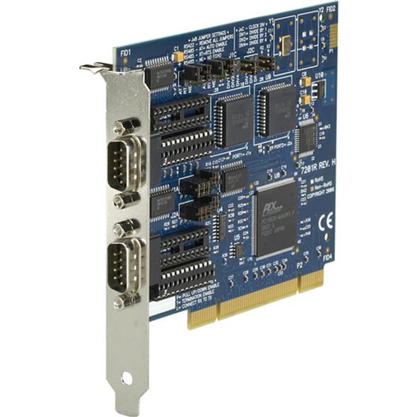 Black Box RS-232/422/485 PCI Card, 2-Port, 16550 UART - IC133C-R2