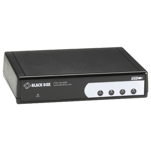 Black Box USB Hub, 4-Port, RS-232 - IC1027A