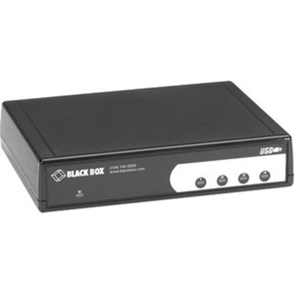 Black Box USB Hub, RS-232/RS-422/RS-485, 4-Port - IC1022A