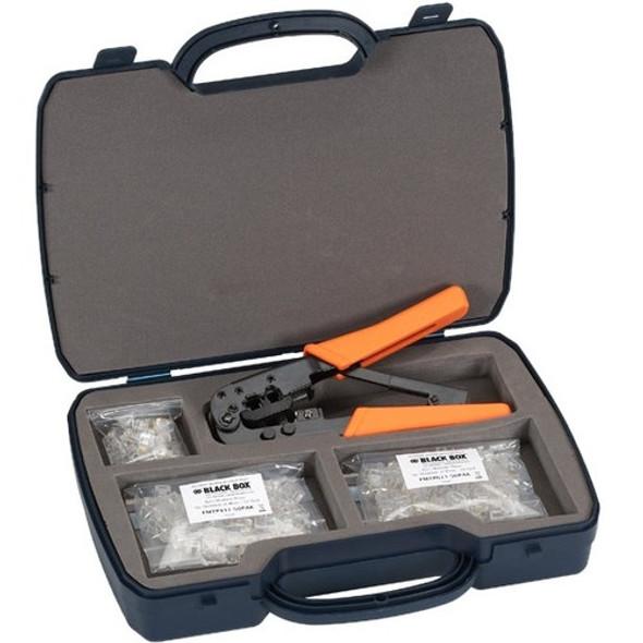 Black Box Deluxe RJ-11 Modular Plug Kit - FTM600-R2