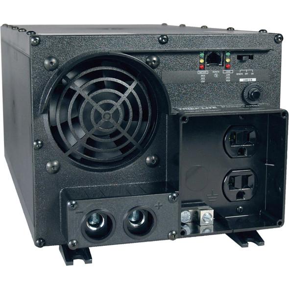 Tripp Lite Industrial Inverter 2400W 24V DC to 120V AC RJ45 2 Outlets 5-15R - PV2400FC