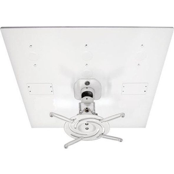 Amer Mounts Universal Drop Ceiling Projector Mount. Replaces 2'x2' Ceiling Tiles - AMRDCP100KIT