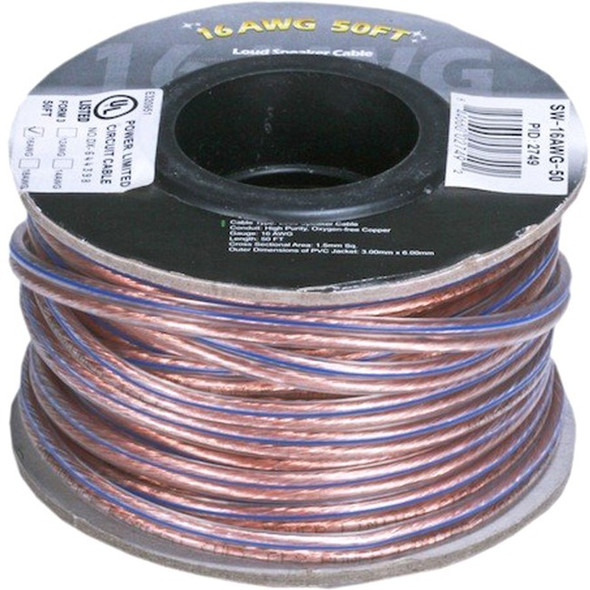 Monoprice 100ft 12AWG Enhanced Loud Oxygen-Free Copper Speaker Wire Cable - (No Logo) - 9343