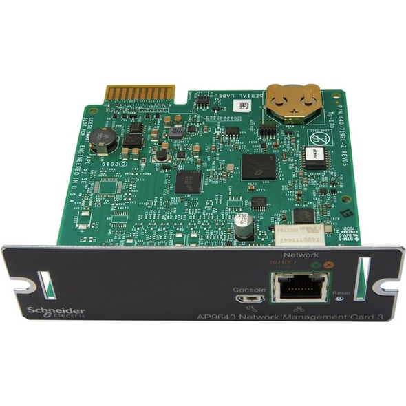 APC by Schneider Electric AP9640 UPS Management Adapter - AP9640