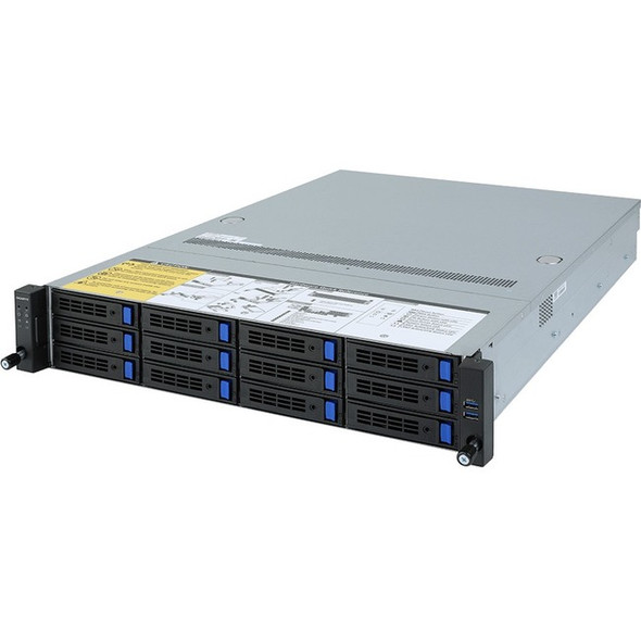 Gigabyte R282-Z90 Barebone System - 2U Rack-mountable - AMD - Socket SP3 - 2 x Processor Support - R282-Z90