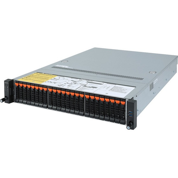 Gigabyte R282-Z92 Barebone System - 2U Rack-mountable - AMD - Socket SP3 - 2 x Processor Support - R282-Z92