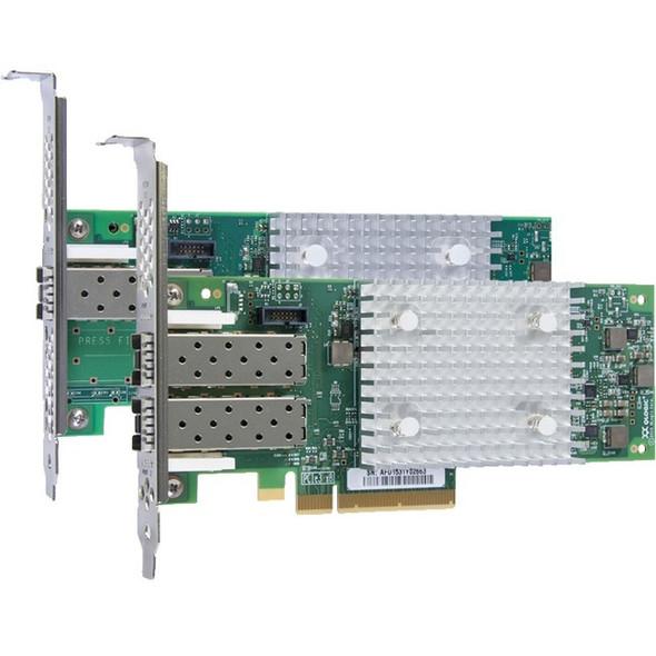 Lenovo QLogic 16Gb Enhanced Gen5 FC Dual-port HBA - 01CV760