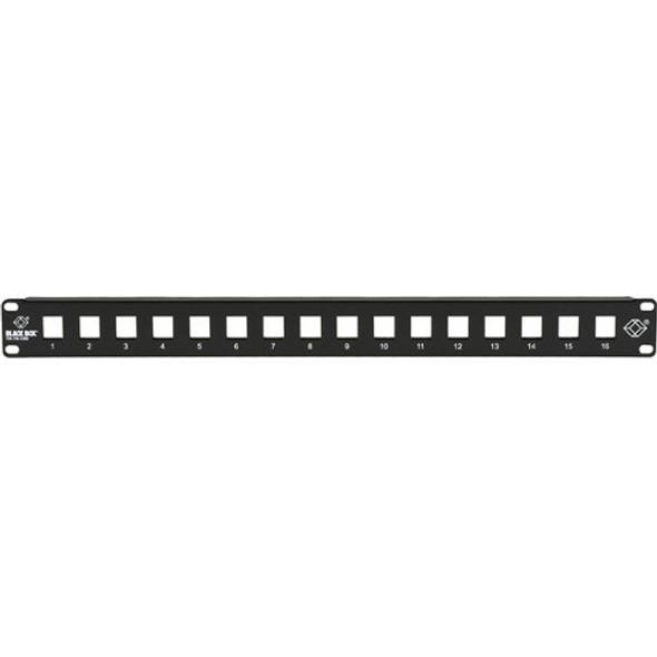 Black Box GigaStation2 High-Density Multimedia Patch Panel, 16-Port, 1U - JPMT1016A