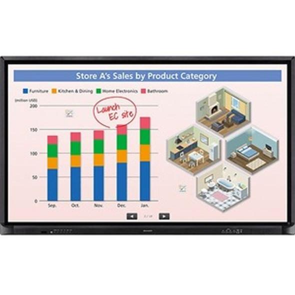 Sharp AQUOS BOARD PN-CE701H Interactive Whiteboard - PNCE701H
