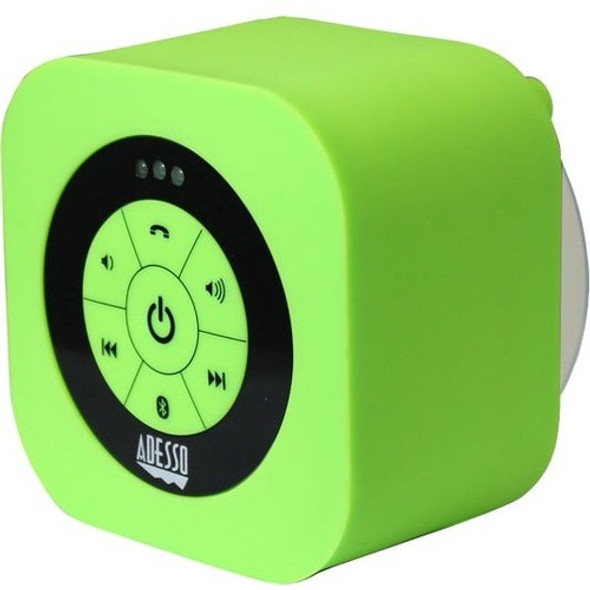 Adesso Xtream Xtream S1G Portable Bluetooth Speaker System - Green - XTREAMS1G