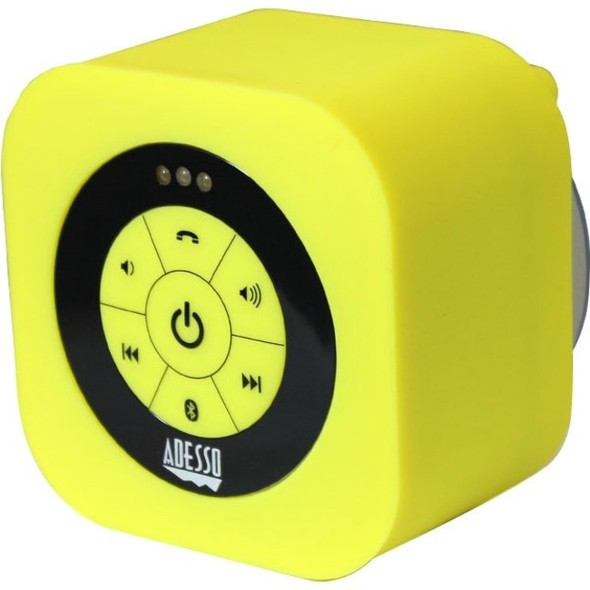 Adesso Xtream Xtream S1Y Bluetooth Speaker System - Yellow - XTREAMS1Y