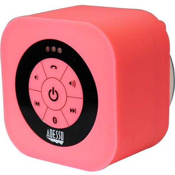 Adesso Xtream Xtream S1P Bluetooth Speaker System - Pink - XTREAMS1P