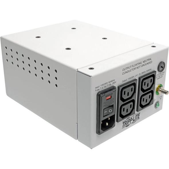 Tripp Lite Isolation Transformer Hospital Dual-Voltage 115/230V 300W 4 C13 - IS300HGDV